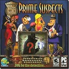 Mystery Case Files Prime Suspects  Brand New Sealed  PC Puzzle Game