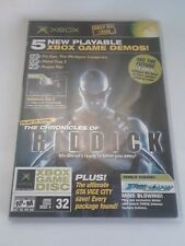 5 New Playable Xbox Game Demos! The Chronicles Of Riddick, 2004, Great!
