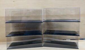 1:18 Display cases 6 pack (Perspex)