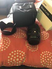 Sigma Art 35mm f/1.4 F1.4 DG HSM Lens for Nikon F - EXC