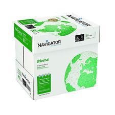 Navigator Universal A4 Paper / White / 80gsm / Box (1 x 2500 Sheets)