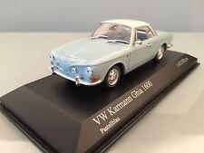 1:43 Minichamps VW Karmann Ghia 1600 , 1966 , Pastellblau