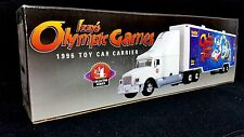 "Texaco Toy Car Carrier #4 ""Izzy's Olympic Games Racer"" 1996 Edition (NIB)(MIB)"
