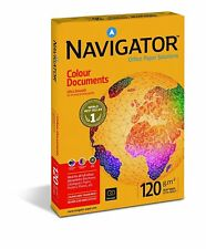 Navigator Colour Documents Paper Ultra Smooth 120gsm A4 White Ref NAV0330 [250