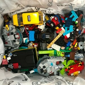 Lego Toy Lot Minifigure Parts Accessories Kids Mixed Bundle Huge Bulk Over 3lbs