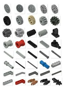 ☀️NEW! LEGO PICK YOUR LOT Technic Parts Pieces Beams Gears Pins Rods Axle NXT