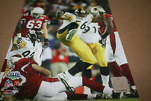 PITTSBURGH STEELERS LAMARR WOODLEY UNSIGNED 8X10 PHOTO POSE 1