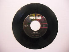 Fats Domino Fell In Love On Monday/Shu Rah 45 RPM Imperial Records VG+