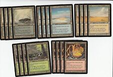 20 Cycling Land Lot - Onslaught  - NM/SP - 4x of each - Sets - Magic MTG FTG