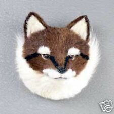 Fox Red Fur Furry Head Realistic Stone Resin Magnet New
