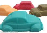 CARS Car 6 Shapes Silicone Mould: Soap Chocolate Ice Candle Melt Jelly Tray Mold