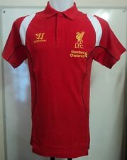 LIVERPOOL 2012/13 RED TRAINING POLO BY WARRIOR ADULTS SIZE SMALL BRAND NEW