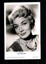 Mady Rahl  Rüdel  Autogrammkarte Original Signiert TOP## BC 1002