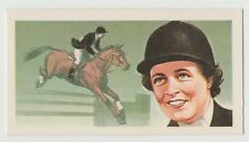 Original 1960s UK Trade Card - Olympic Show Jumping Star Pat Smyth