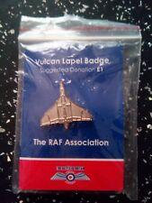 RAF Battle Of Britain Lapel Badge Pin Vulcan  Aircraft