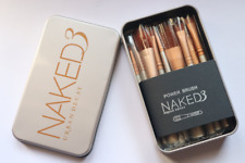Urban Decay Naked3 Makeup Brush Set of 12 Brush With Storage Box # 10 DAYS UK