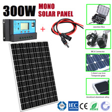 300W 12V MONO SOLAR PANEL 300WATT+ 30A SOLAR CHARGING REGULATOR+ 2M MC4 CABLES
