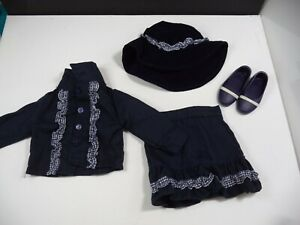 """Doll Clothes & Shoes for 18"""" Doll Tagged Battat Fits American Girl Journey Exc"""
