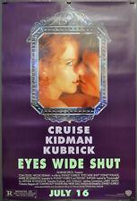 Eyes Wide Shut 1999 27X40 S/S Movie Poster Cruise Nicole Kidman Stanley Kubrick