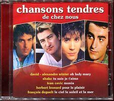 CHANSONS TENDRES DE CHEZ NOUS - RARE CD COMPILATION NEUF ET SOUS CELLO