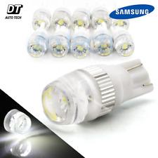 10pcs T10 Wedge Samsung High Power 2W LED Light Bulbs Xenon White 192 168 194