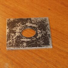 LENS BOARD METAL for PRO CAMERA vintage 100x100mm square