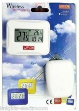 W-8685 wireless indoor outdoor Thermomètre Horloge w8685