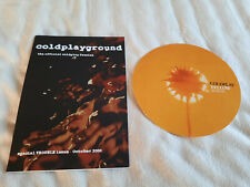More details for coldplay coldplayground trouble fanzine 2000 + yellow promo postcard