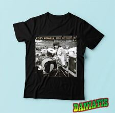 "Colin Trevor ""Cozy"" Powell  English rock drummer, T-shirt Tee Size S M L XL 2XL"