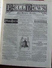"""""""The Bell News"""" 1883-84. Journal of Bell-Ringing, Campanology."""