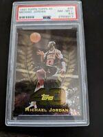 Michael Jordan 1997-98 Topps Topps 40 Bulls PSA 8.5 Mint
