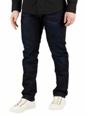 Jeans da uomo blu invecchiato Taglia 34