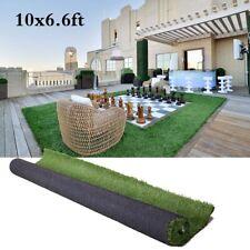 10x6.6ft Artificial Grass Floor Mat Synthetic Landscape Lawn Turf Garden Carpet