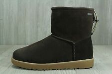47 UGG Classic Toggle Stout Men's Boots Waterproof Brown Sz 7-14 1097949