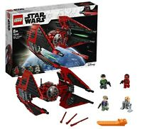 LEGO STAR WARS MAJOR VONREG'S RED TIE INTERCEPTOR FIGHTER 75240 VONREGS - BNIB
