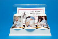 Celebrate the Royal Birth of Baby Archie to Meghan & Harry Box Set Thimbles B/37