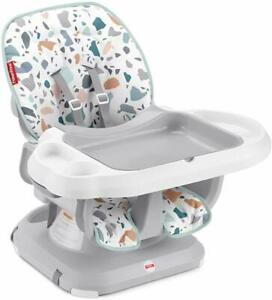 Fisher-Price SpaceSaver High Chair Pacific Pebble Infant-to-Toddler Dining Chair
