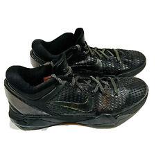 Nike Zoom Kobe VII 7 System Elite Size 10.5 Black/Gold/Finals 511371-001