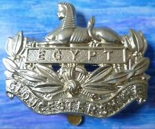 Badge- Gloucestershire Regiment Cap Badge (White-Metal) maker AMMO UK