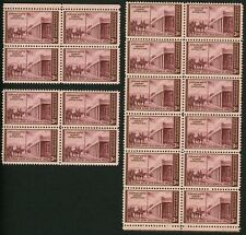 1946 3c US Postage Stamps Scott 944 Kearny Expedition Santa Fe Lot of 20