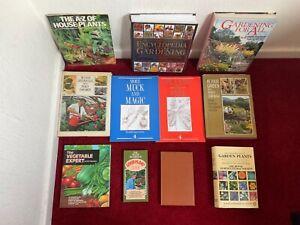 Gardening Books Garden Books Job Lot Related Mostly Hardback Books