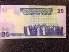 Libia Billete De 20 dinares 2009 UNC