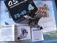 OS FS 40 fourstroke, beautiful running and boxed.