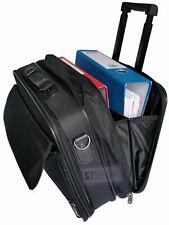 NEW LARGE TRAVEL LAPTOP BUSINESS BRIEFCASE HAND LUGGAGE PILOT CASE BAG UK SELLER