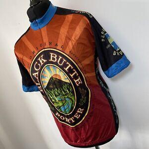 Black Butte Porter Deschutes Brewery Ale Beer USA Cycling Jersey Shirt XXL