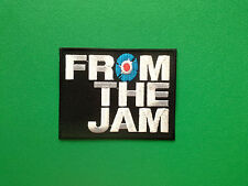 HEAVY METAL PUNK ROCK MUSIC SEW ON / IRON ON PATCH:- FROM THE JAM (a) FTJ
