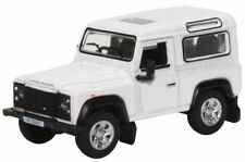 Land Rover, Defender 90, Station Wagon, White, Oxford, 1/76 New