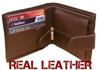 New 2020 MENS LUXURY SOFT QUALITY LEATHER WALLET, CREDIT CARD HOLDER PURSE BLACK