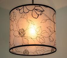 Lampenschirm Rund Weiss für Stehlampe Deckenleuchten Hängelampe Rund E 27