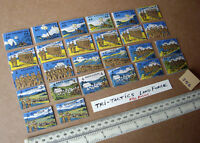 """26 Vintage Gibson Wargame Spare Parts """"Tri-Tactics"""" 1940s/50s Period. (356)"""
